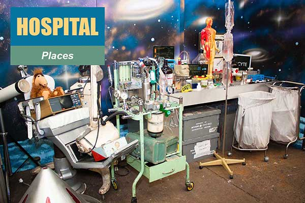 Hospital Theme - Place Themes -  Sydney Prop Specialists