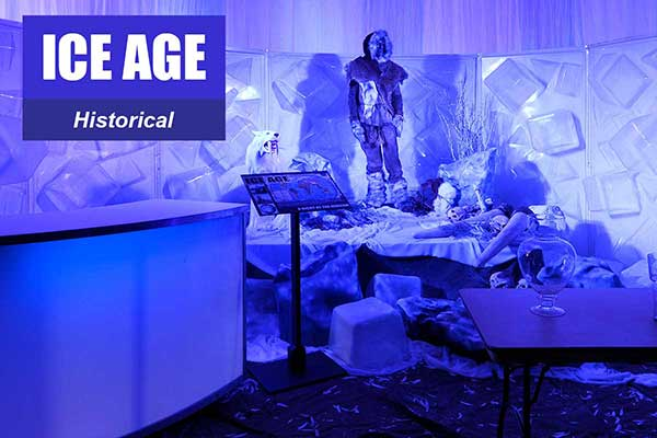 Ice Age Theme - Historical Themes -  Sydney Prop Specialists