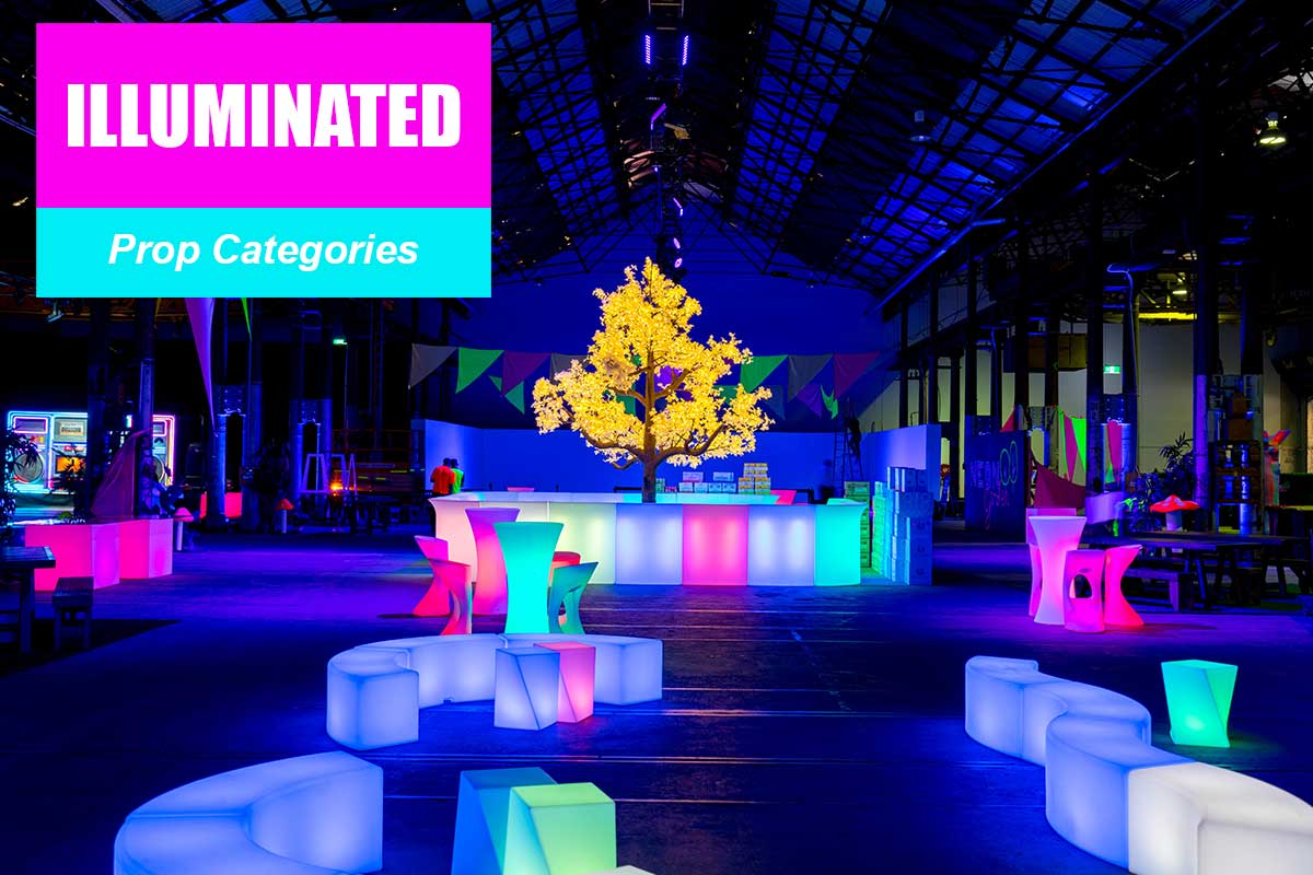 Illuminated Props -  Sydney Prop Specialists