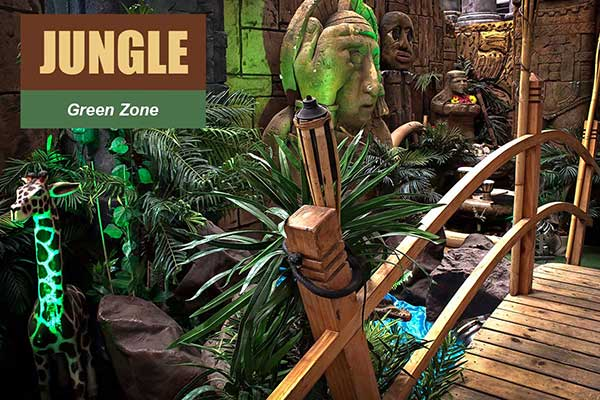 Jungle Theme - Green Zone Themes -  Sydney Prop Specialists