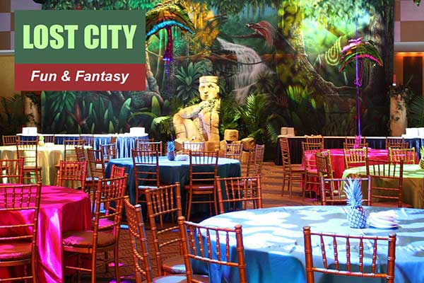 Lost City Theme - Fun and Fantasy Themes - Sydney Prop Specialists