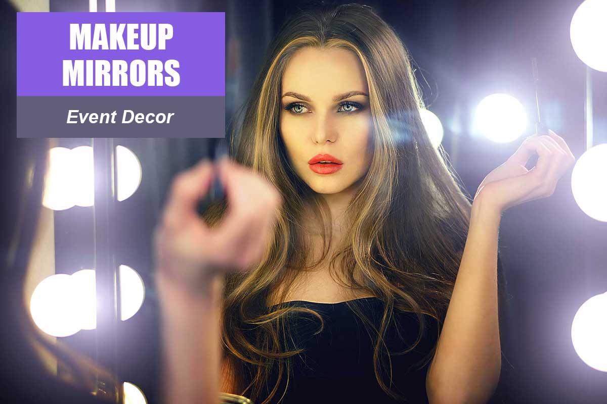 Makeup Mirrors  -  Sydney Prop Specialists