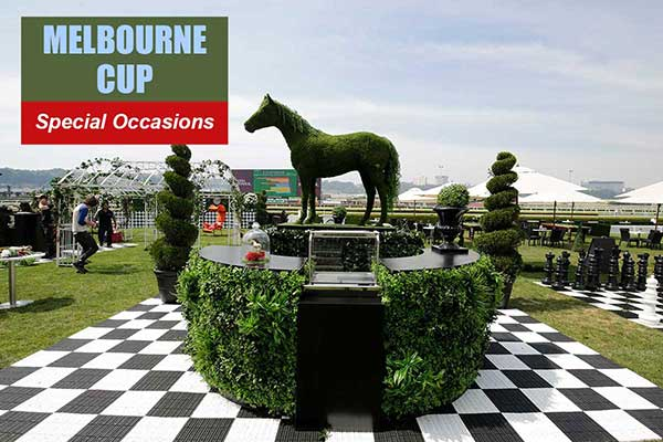 Melbourne Cup Theme - Special Occasion Themes -  Sydney Prop Specialists