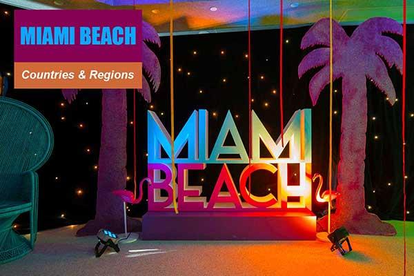 Miami Beach Theme - Sydney Prop Specialists