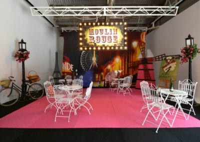 Moulin Rouge Theme - Sydney Prop Specialists