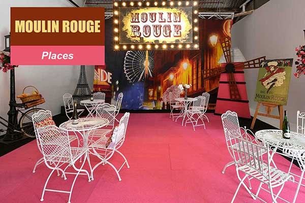 Moulin Rouge Theme - Place Themes -  Sydney Prop Specialists