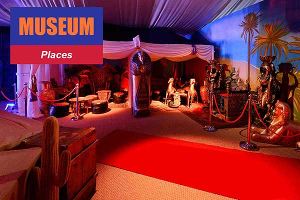 Museum Theme - Place Themes -  Sydney Prop Specialists