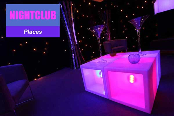 Nightclub Theme - Place Themes -  Sydney Prop Specialists