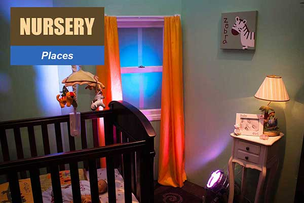 Nursery Theme - Place Themes -  Sydney Prop Specialists