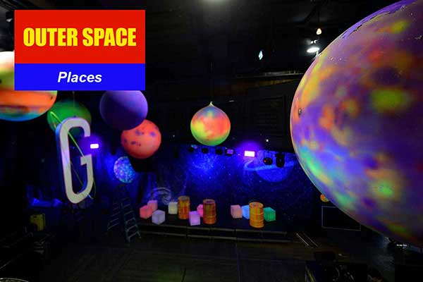 Outer Space Theme - Place Themes -  Sydney Prop Specialists