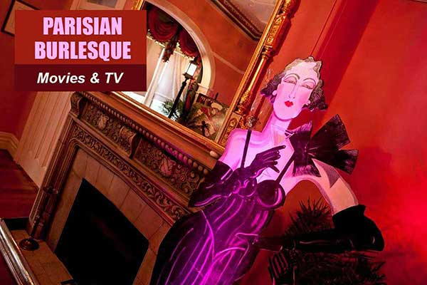 Parisian Burlesque Theme - Movie and TV Themes -  Sydney Prop Specialists