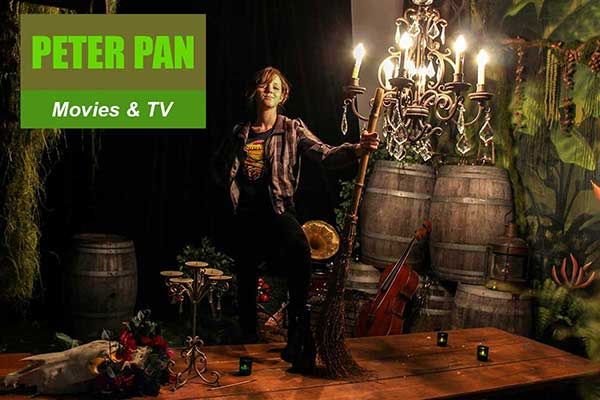 Peter Pan Theme - Movie and TV Themes -  Sydney Prop Specialists