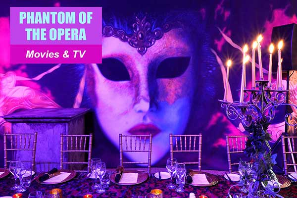 Phantom of the Opera Theme - Movie and TV Themes -  Sydney Prop Specialists