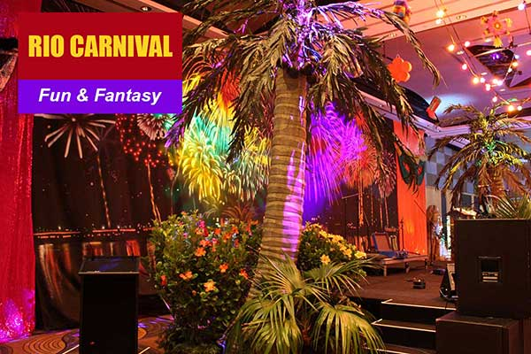Rio Carnival Theme - Fun and Fantasy Themes - Sydney Prop Specialists