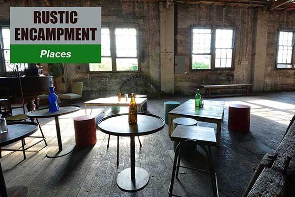 Rustic Encampment Theme - Place Themes -  Sydney Prop Specialists