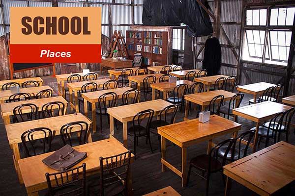 School Theme - Place Themes -  Sydney Prop Specialists