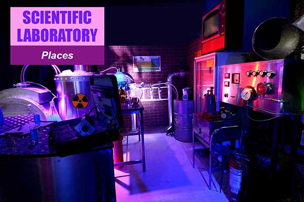 Scientific Laboratory Theme - Place Themes -  Sydney Prop Specialists