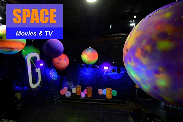 Space Theme - Movie and TV Themes -  Sydney Prop Specialists