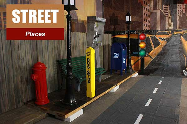 Street Theme - Place Themes -  Sydney Prop Specialists