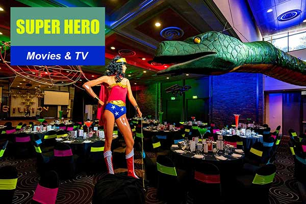 Super Hero Theme - Movie and TV Themes -  Sydney Prop Specialists
