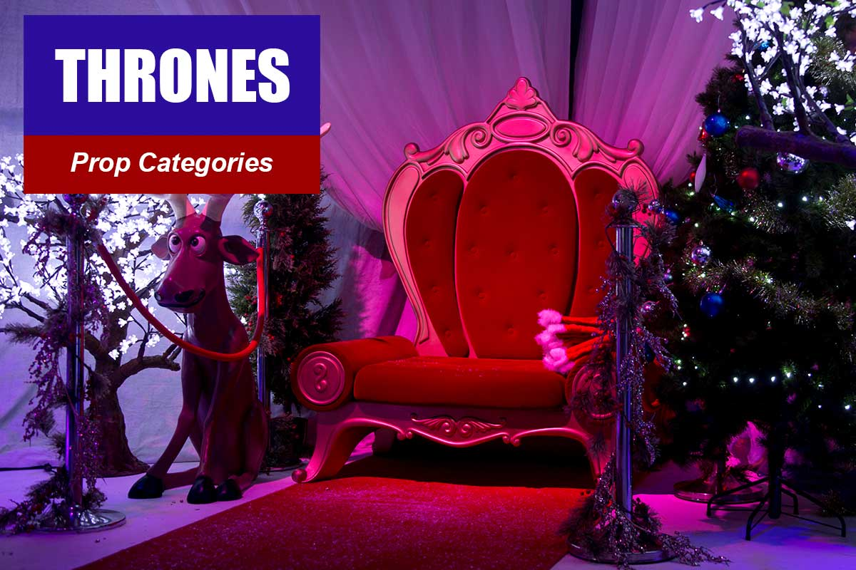 Thrones and Regval Chairs -  Sydney Prop Specialists