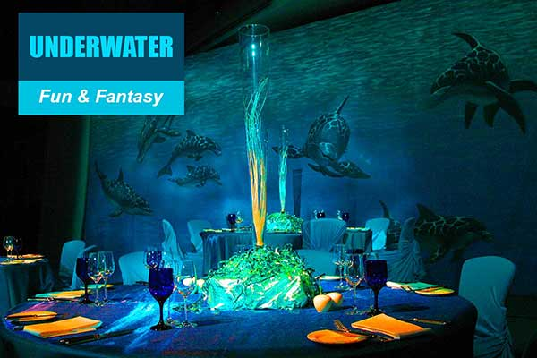 Underwater Theme - Fun and Fantasy Themes - Sydney Prop Specialists