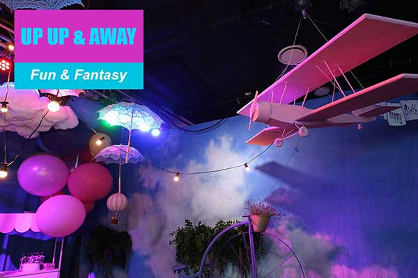 Up Up and Away Theme - Fun and Fantasy Themes - Sydney Prop Specialists