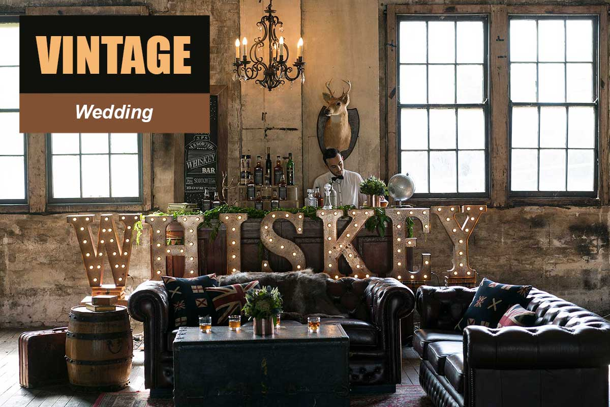Vintage Theme - Wedding Themes - Sydney Prop Specialists