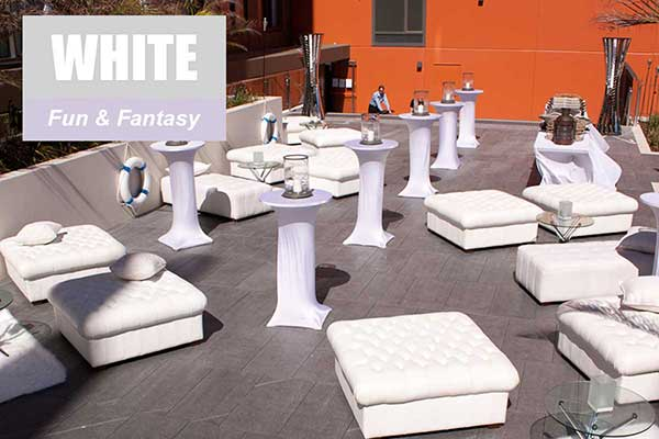 White Theme - Fun and Fantasy Themes - Sydney Prop Specialists