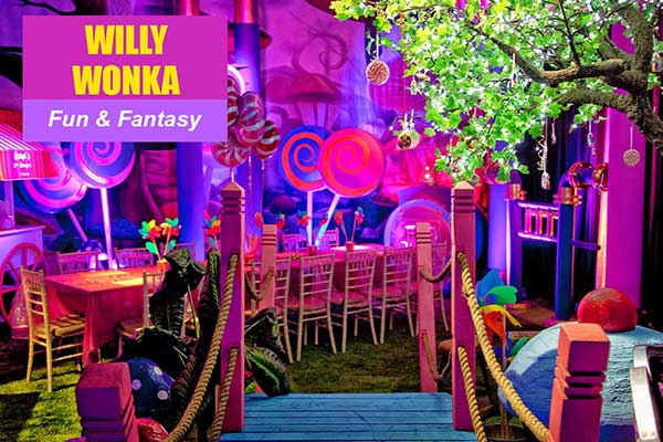 Willy Wonka Theme - Fun and Fantasy Themes - Sydney Prop Specialists