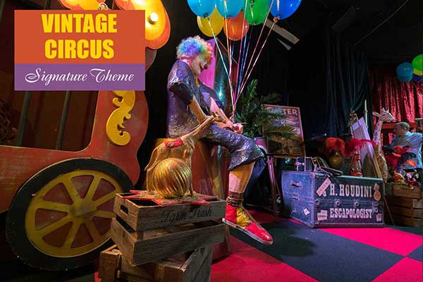 Vintage Circus Theme - Signature Themes - Sydney Prop Specialists