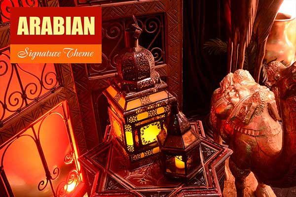 Arabian Theme - Signature Themes - Sydney Prop Specialists