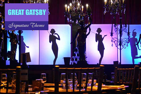 Great Gatsby Theme - Signature Themes - Sydney Prop Specialists