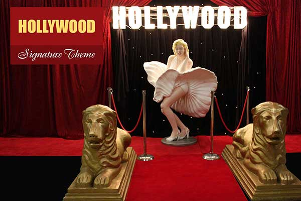 Hollywood Theme - Signature Themes - Sydney Prop Specialists