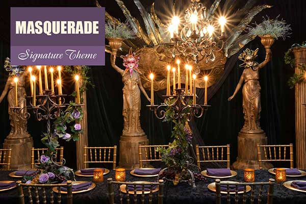 Masquerade Theme - Signature Themes - Sydney Prop Specialists