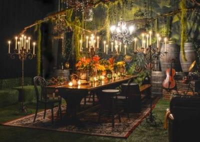 Rustic Banquet Theme - Sydney Prop Specialists