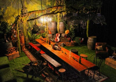 Rustic Banquet Theme - Sydney Prop Specialists