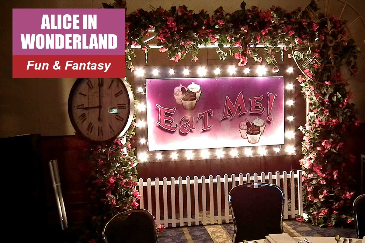 Alice in Wonderland Theme - Brand Activation Themes at Sydney Prop Specialists