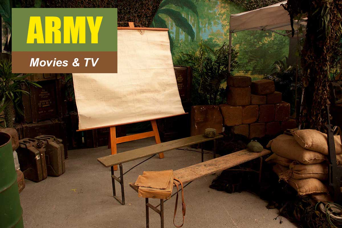 Army Theme - Conference Themes at Sydney Prop Specialists