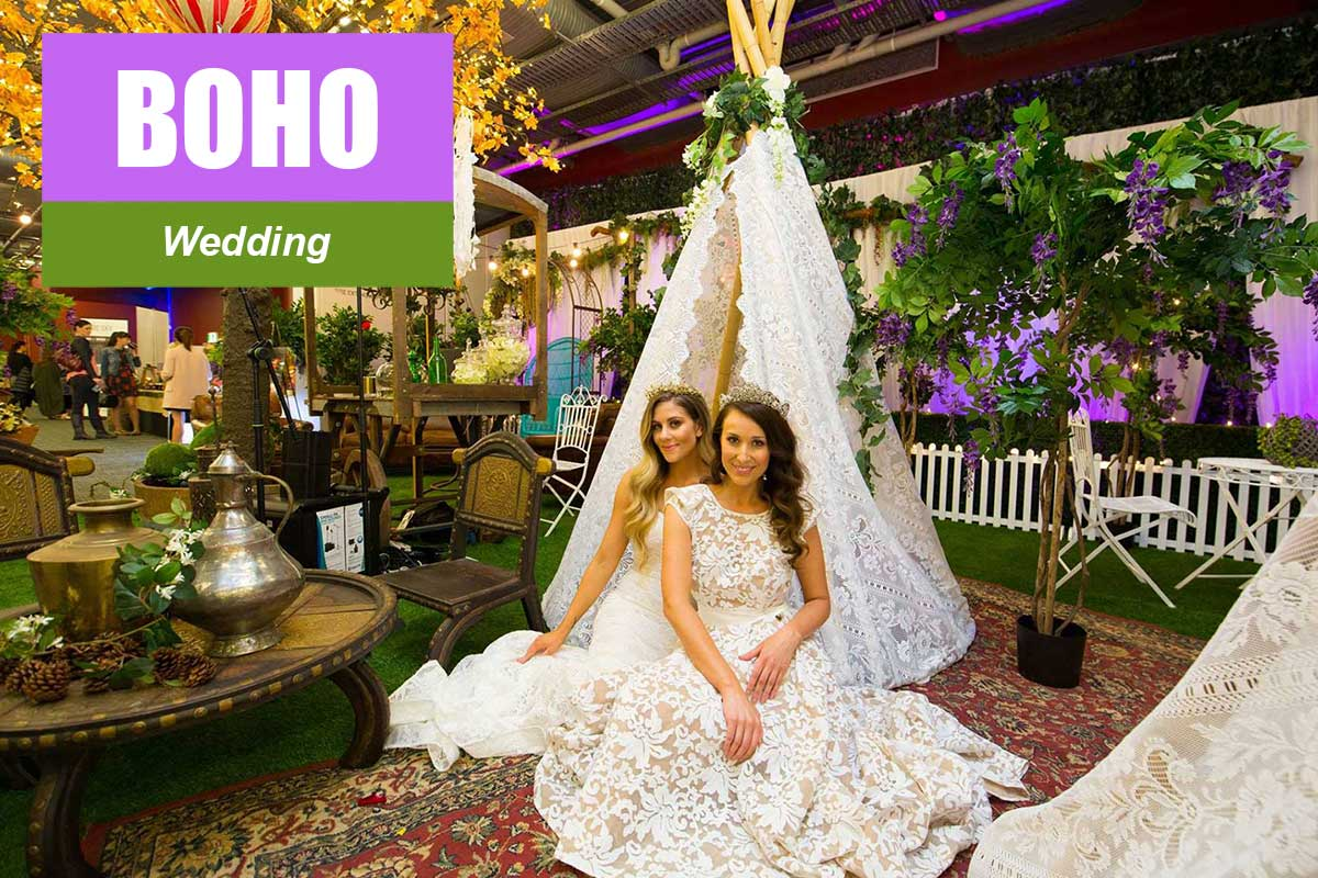 Boho Wedding Theme - Exhibition and Trade Show Themes at Sydney Prop Specialists
