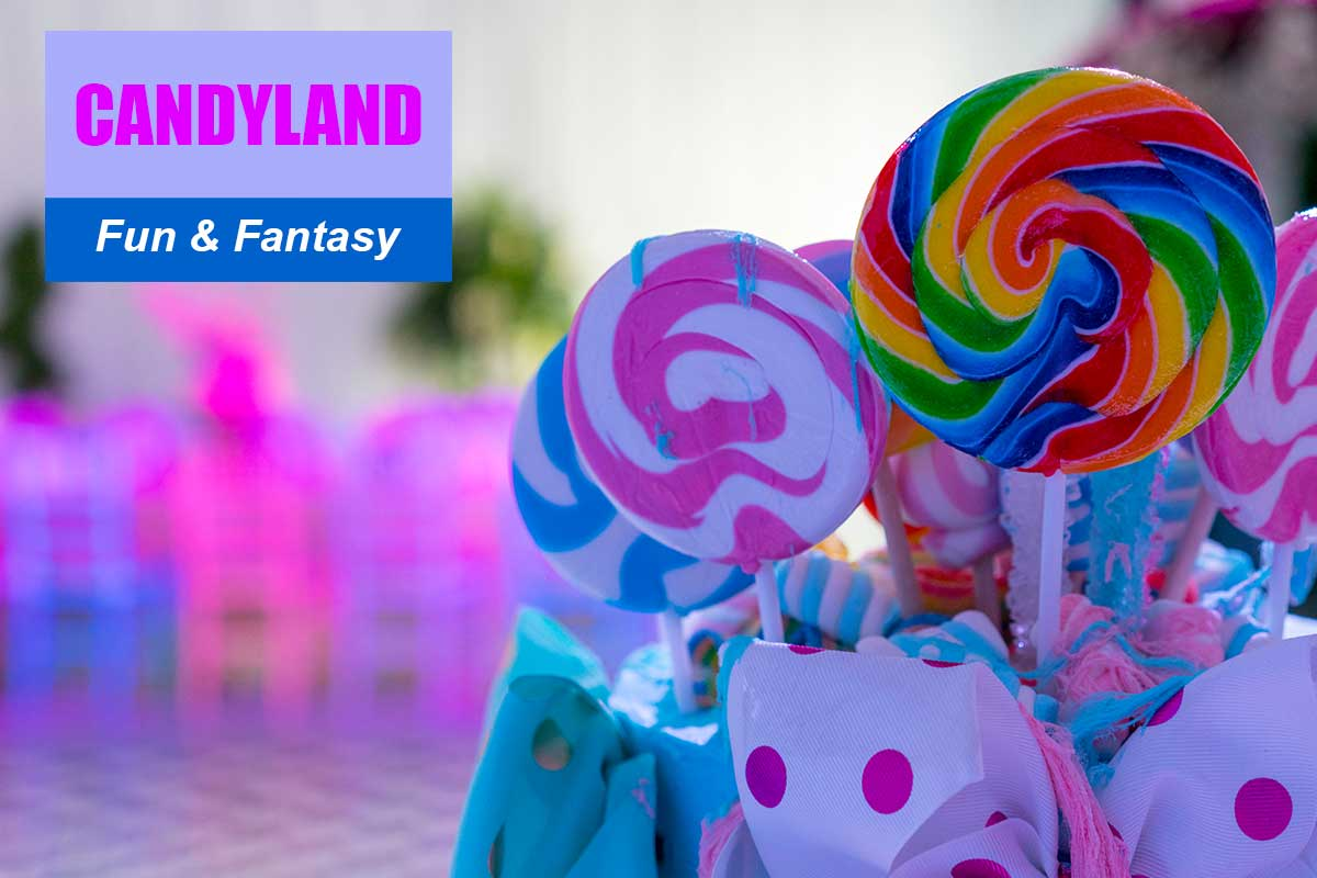 Candyland Theme - Exhibition and Trade Show Themes at Sydney Prop Specialists