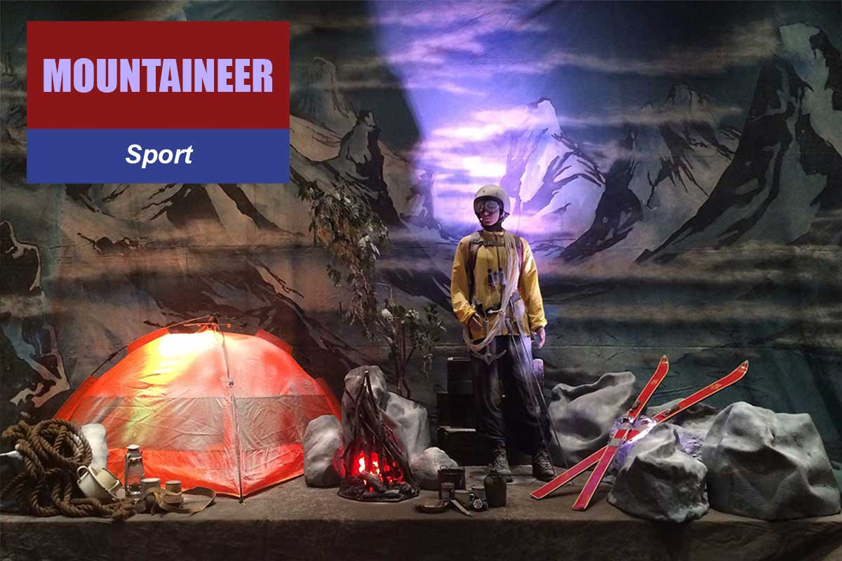 Mountaineer Theme - Exhibition and Trade Show Themes at Sydney Prop Specialists