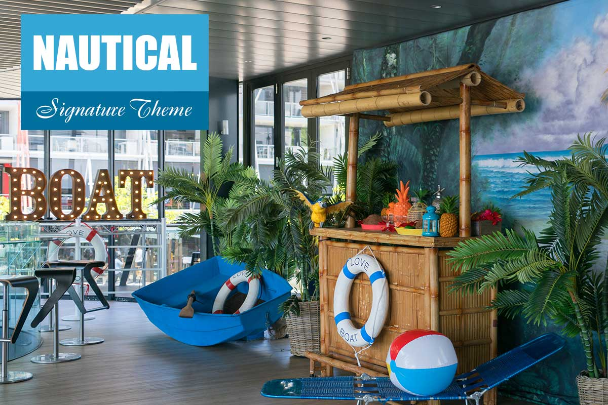 Nautical Theme - Conference Themes at Sydney Prop Specialists
