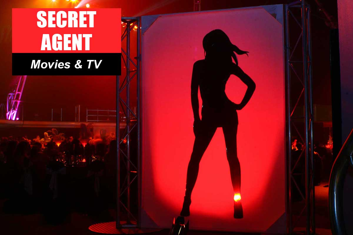 Secret Agent Theme - Conference Themes at Sydney Prop Specialists