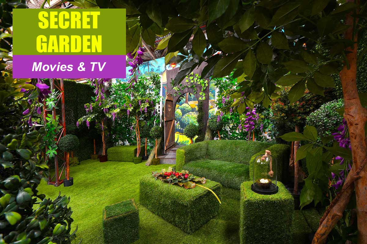 Secret Garden Theme - Conference Themes at Sydney Prop Specialists