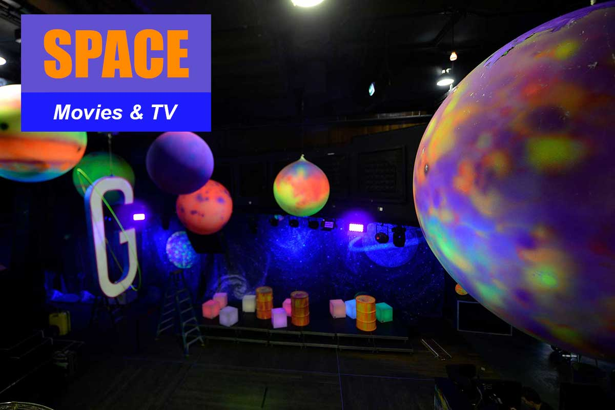 Space Theme - Brand Activation Themes at Sydney Prop Specialists