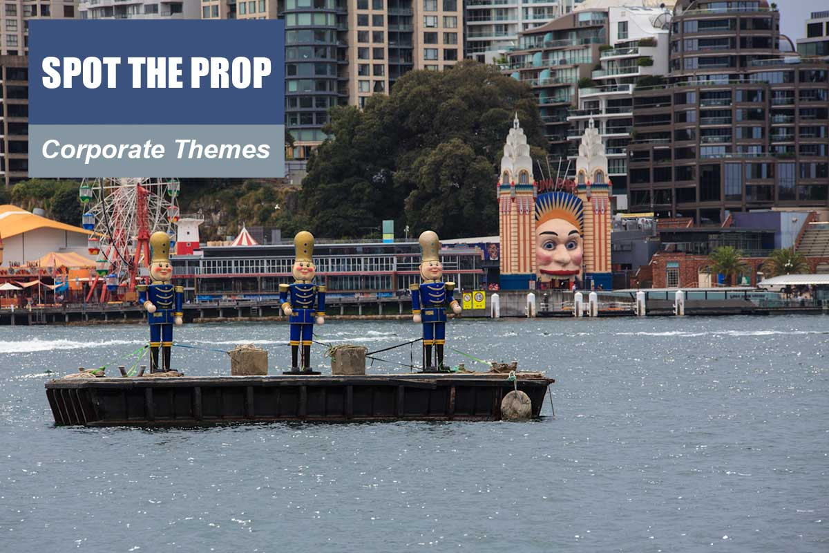Spot the Prop Theme - Brand Activation Themes at Sydney Prop Specialists