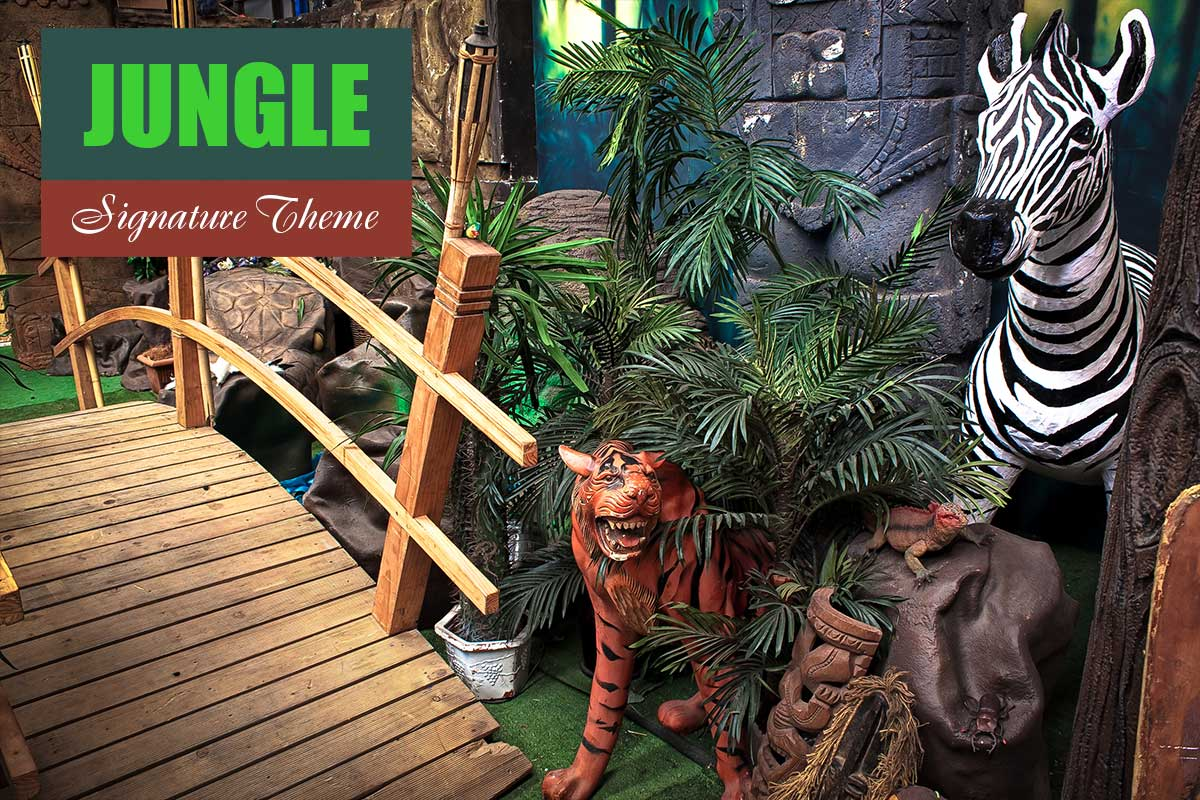 Jungle Theme - Brand Activation Themes at Sydney Prop Specialists