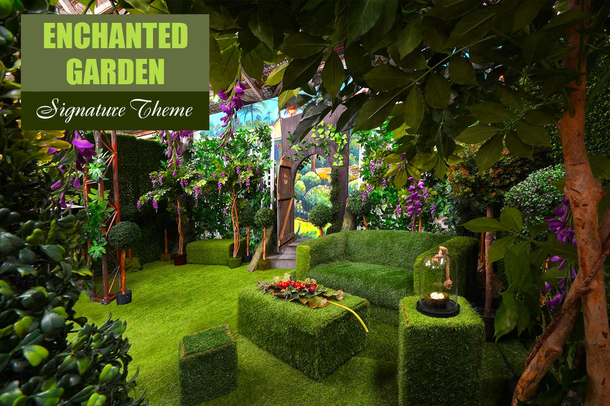 Enchanted Garden Theme - Brand Activation Themes at Sydney Prop Specialists