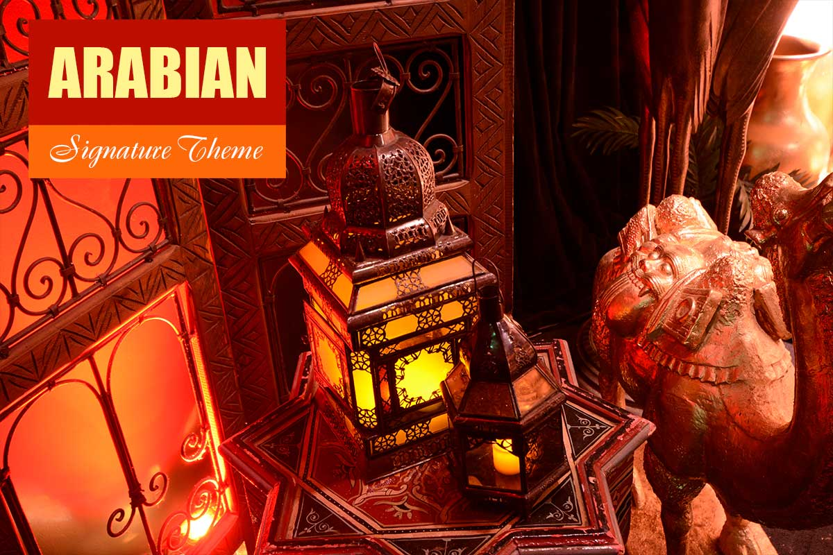 Arabian Theme - Exhibition and Trade Show Themes at Sydney Prop Specialists